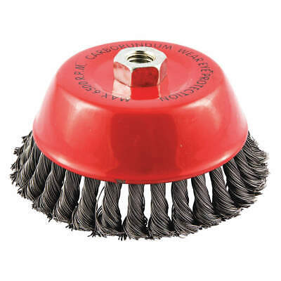 """GRAINGER APPROVED Cup Brush,Wire 0.020"""" dia.,Carbon Steel, 66252838702"""
