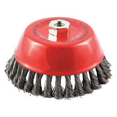 """GRAINGER APPROVED Cup Brush,Wire 0.014"""" dia.,Carbon Steel, 66252838789"""