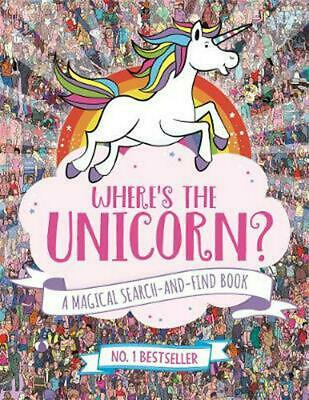 Where's the Unicorn?: A Magical Search-and-Find Book by Sophie Schrey Paperback