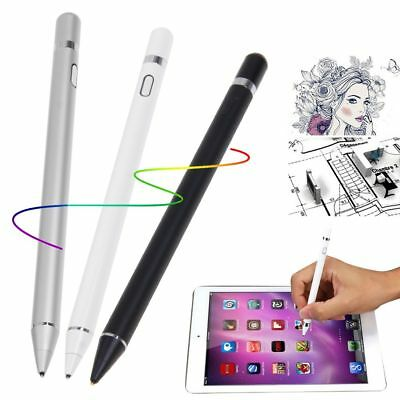 Rechargeable Capacitive Touch Screen Stylus Pen for iPhone iPad Tablet PC Galaxy