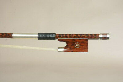 Master Model! A Snakewood Violin Bow,  Deluxe Flamed,Fast response!Loud tone
