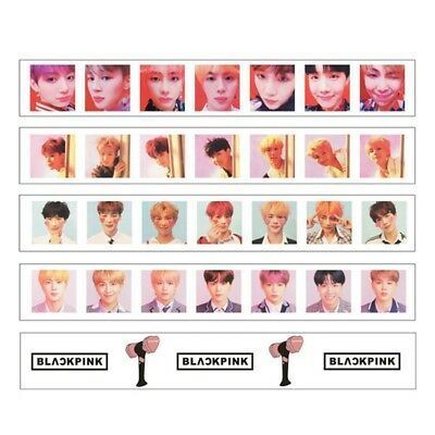 KPOP BTS BLACKPINK Washi Tape Paper Maksing Cute DIY Scrapbook Stickers
