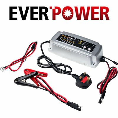 12V Car Smart Battery Charger Conditioner Lead Acid Battery Motorcycle Boat UK #