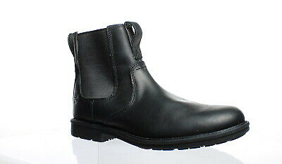 9e5b5b07f45f Timberland Mens Carter Notch Pt Chelsea Black Ankle Boots Size 10 (156203)