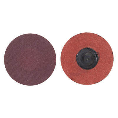 "GRAINGER APPROVED Quick Change Disc,Coated,3"" dia.,PK50, 69957399717, Brown"