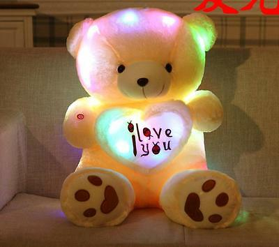 50cm Night Light Plush cute Teddy Bear Soft Doll Toy gift for birthday gifts New