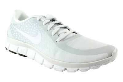 200118de233cf Nike Womens Free 5.0 V4 Ns Pt pureplatinum white white Running Shoes Size 12