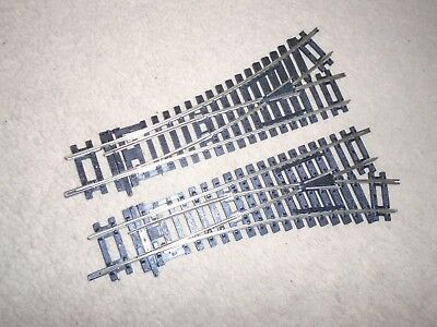 R8072 / R8073 Nickel Silver Left & Right Points for Hornby OO Gauge Train Sets