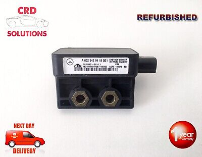 Mercedes Yaw Rate Sensor: 0025429418 - 002 542 94 18 - A1635426340