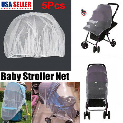 5Pack Baby Mosquito Net for Stroller Car Seat Infant Bug Protection Insect Cover