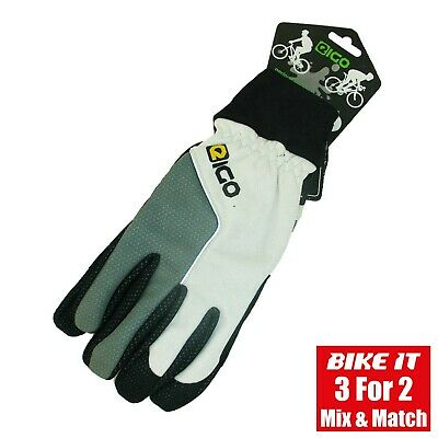 Eigo Karting Gloves Go Kart Cycling Gloves Gel Padded Palm *Ex-Display*