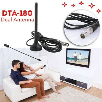 Dual Band Indoor HD Digital TV Aerial Freeview Mini Antenna Magnetic Base DTA180