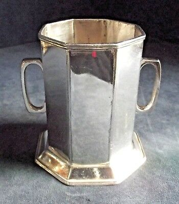 GOOD ~ SILVER Plated ~ BOTTLE / CUTLERY Holder ~ c1910