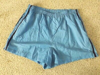 9aaa6bf890 Just My Size women s blue w black side stripes nylon shorts size 22W