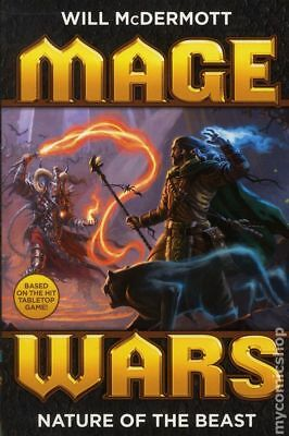 Mage Wars Nature of the Beast SC (Dynamite Novel) #1-1ST 2015 NM Stock Image