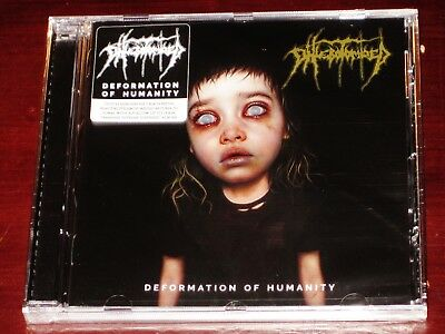 Phlebotomized: Deformation Of Humanity CD 2019 Hammerheart UK HHR 2019-02 NEW