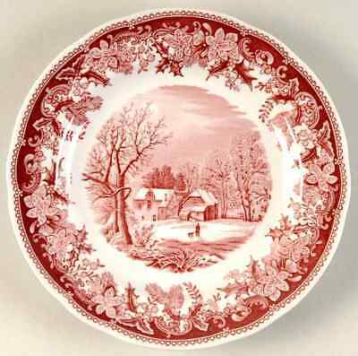 Spode WINTER'S EVE RED Salad Plate 6118781