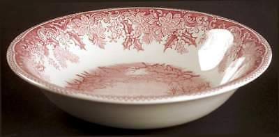 Spode WINTER'S EVE RED Ascot Cereal Bowl 6560831