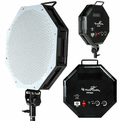 Photo Video Studio Dimmable LED Octagon Panel Continuous Light