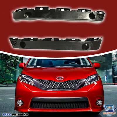 Partslink Number TO1043116 OE Replacement Toyota Sienna Front Bumper Cover Support
