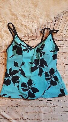 be35932ab5b01 NWT MSRP $110 - MIRACLESUIT Tiering Up Tankini (Top Only), Solid ...