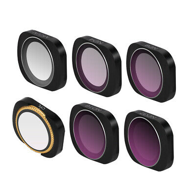 6x MCUV CPL ND4 8 16 32 Camera Lens Filter Accessories for DJI OSMO POCKET RC959