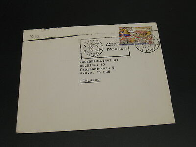 Ivory Coast 1967 cover to Finland *16162
