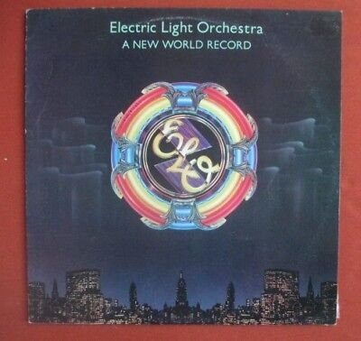 Electric Light Orchestra ,ELO Lp - New World Record, orig pressing