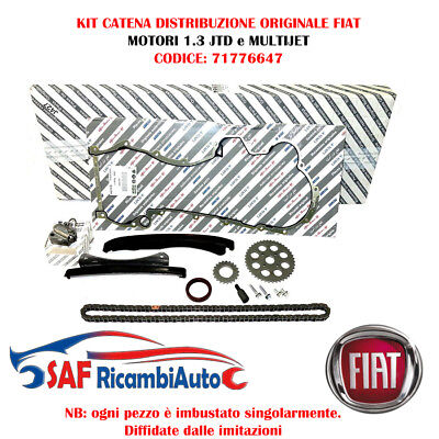 Kit Catena Distribuzione Originale Fiat 1.3 Multijet Lancia Ypsilon 71776647
