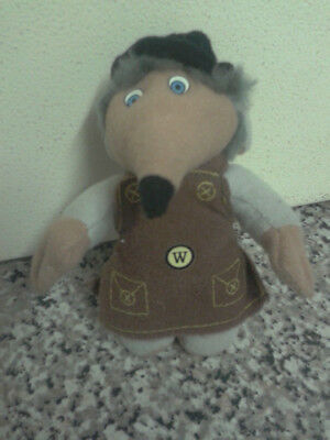 1999 Womble 'tomsk  Tag Cut???' Mcdonalds Happy Meal Toy. £4 Free Uk Postage