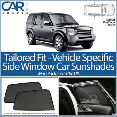 Land Rover Discovery 3/4 5dr 04> CAR SHADES UK TAILORED UV SIDE WINDOW SUN BLIND