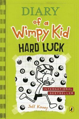 Diary of a Wimpy Kid: Hard Luck: 8 By Jeff Kinney