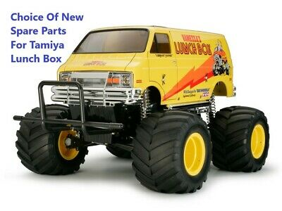 Choice Of New Genuine Tamiya Spare Parts For 'Tamiya Lunchbox 58347' (Lunch Box)