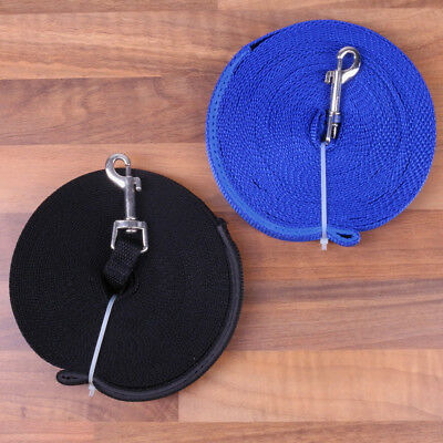 EXTRA LONG STRONG DOG LEAD Padded Handle Durable Polyester Webbing Pet Puppy