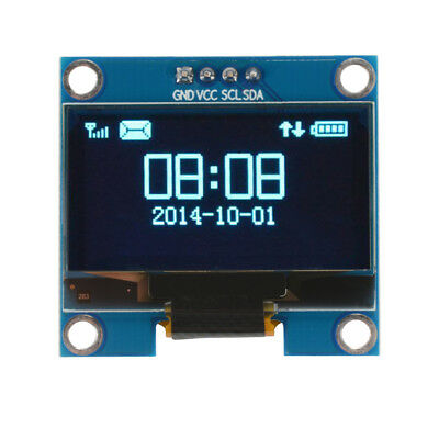 "1.3"" 4Pin OLED LCD Display 12864 IIC I2C Serial 128x64 Module for Arduino TE880"