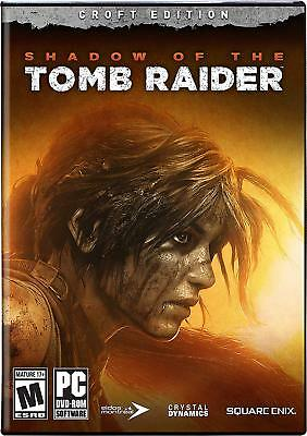Shadow of the Tomb Raider Croft Edition Pc No Key Code [Email Delivery]