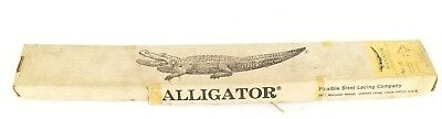 Nib Alligator 69-7598 Belt Lacing Size: 15 10482 1/8''-5/32'' 3-4Mm (4 Sets)