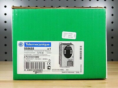 BRAND NEW - Telemecanique ATV31H018M2 Altivar AC Speed Drive 0,18kW/0,25HP