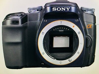 Sony Alpha A100 10.2MP Digital SLR Camera (Body Only) With Charger And Battery