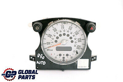 BMW MINI Cooper One R50 R52 Speedometer Speedo Clock Instrument Cluster 6972076
