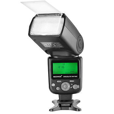 Neewer NW760 Remote TTL Flash Speedlite for Canon EOS 5DS 5DSR 5S Mark IV 80D