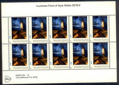 Nederland  VUURTOREN WALES POINT OF AYRE 2019-2  VELLETJE      postfris/mnh