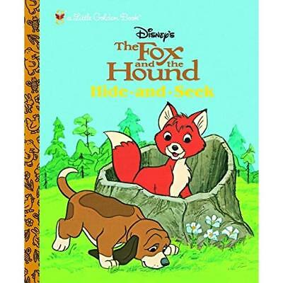 The Fox and the Hound: Hide and Seek (Little Golden Boo - Hardcover NEW Company,