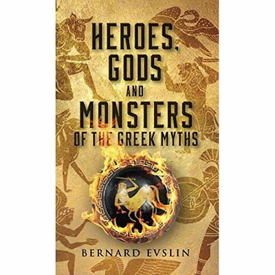 Heroes, Gods and Monsters of the Greek Myths - Mass Market Paperback NEW Evslin,