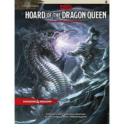 Tyranny of Dragons: Hoard of the Dragon Queen Adventure - Hardcover NEW Coast, W
