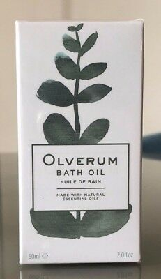 *BRAND NEW & SEALED* OLVERUM Bath Oil With Natural Essential Oils - 60ml