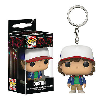 Funko Pop Tascabile - Stranger Things - Dustin Statuetta Portachiavi