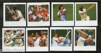 St. Vincent 1988 Cricketers Gavaskar Kapildev India Imperforated Proof Set MNH