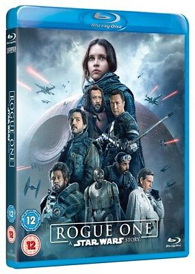 Rogue One: A Star Wars Story Blu-ray 2017 2 Disc Edt uk sale new sealed REG ABC