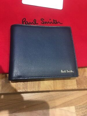 Bnwt Dreamer Tough Billfold Wallet Paul Smith Wallet Paisley Studs Rrp:£225